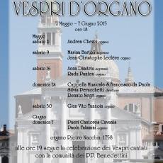 Vespri d'Organo a San Giorgio Maggiore