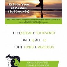 Estate Yoga al Lido Kasbah (ex Sottovento)