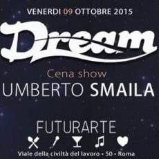Futurarte Roma - Venerdi 9 Ottobre - Umberto Smaila Live