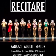 RECITARE laboratoti seminari e workshop
