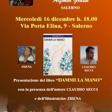 Claudio Secci e Zhena all'Accademia delle Belle Arti di Salerno
