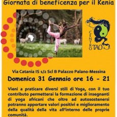 evento Yoga di beneficenza per il Kenya
