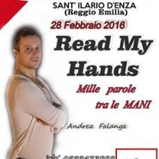 READ MY HANDS- Mille parole tra le mani