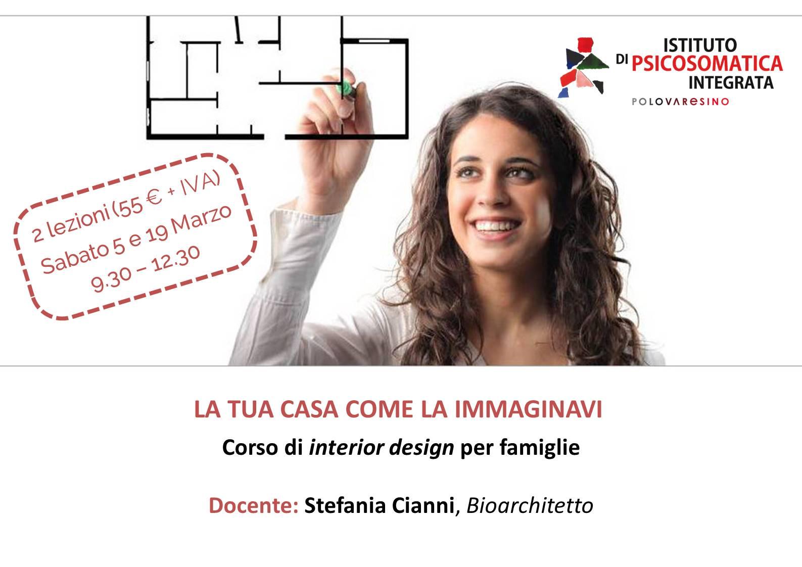 Corso di interior design per famiglie la tua casa come la for Corso interior design napoli