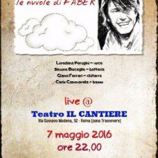 le nuvole di FABER - tributo a Fabrizio De Andrè