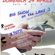 Evento sul lago - 14 Maggio dalle ore 15 - GACM BIG SHOW ON THE LAKE III