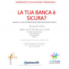 Seminario di Educazione Finanziaria a Palermo