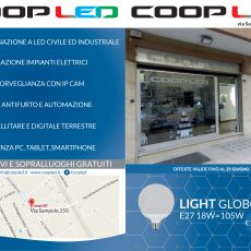 PIEGHEVOLE COOP LED