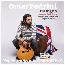 Il rock italiano di Omar Pedrini torna in concerto ad Alba