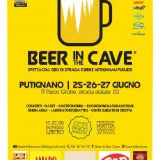 Beer in theCave al Parco Grotte di Putigliano
