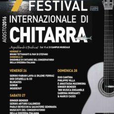 IX° Festival Internazionale di Chitarra a Menaggio