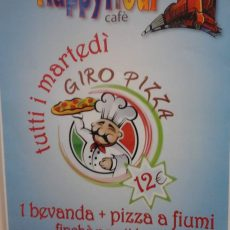 GIRO PIZZA € 12 HAPPY HOUR