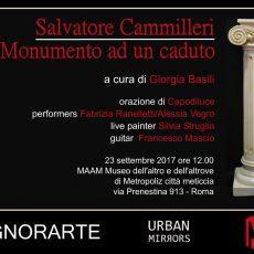 Salvatore Cammilleri - Monumento ad un caduto