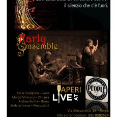 KARLY ENSEMBLE APERILIVE AT PEOPLE BISTROT